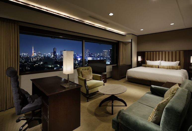 Grand Prince Hotel Takanawa, Tokyo, Premier Deluxe King Room with Lounge Access, Non-smoking, Guest Room