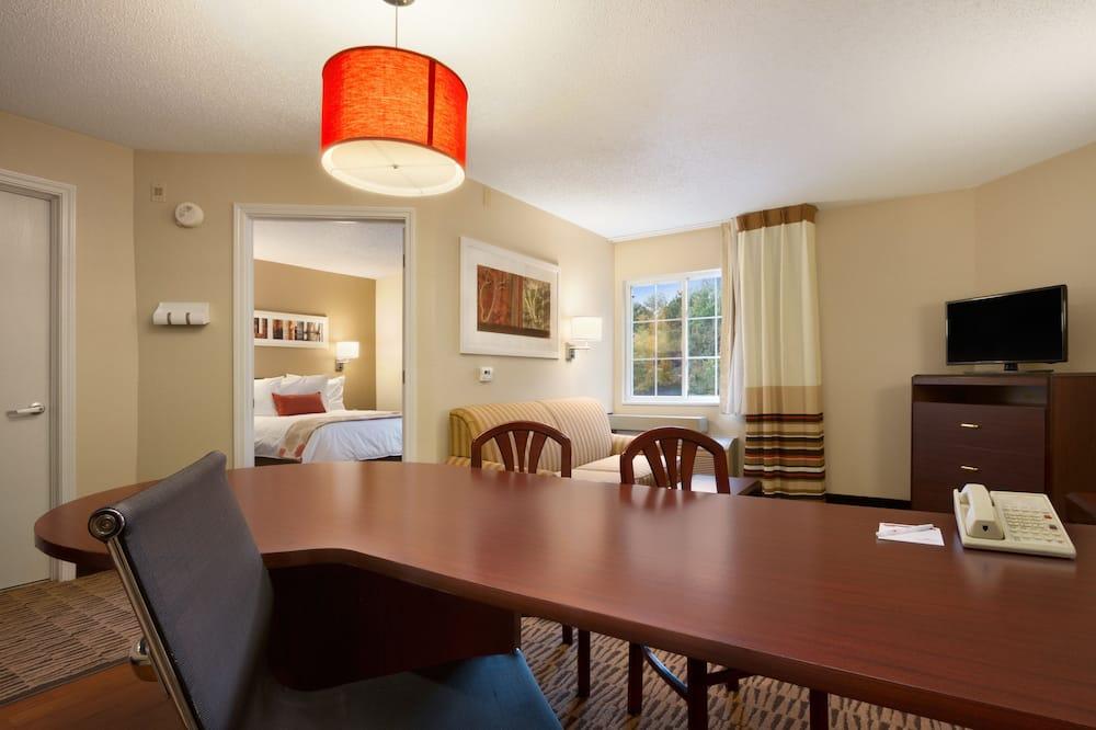 Luksusa numurs, 1 divguļamā karalienes gulta, nesmēķētājiem (1 Bedroom) - Dzīvojamā zona