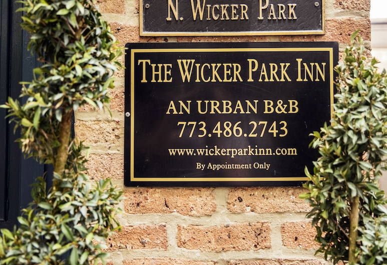 Wicker Park Inn, Chicago, Hotellinngang