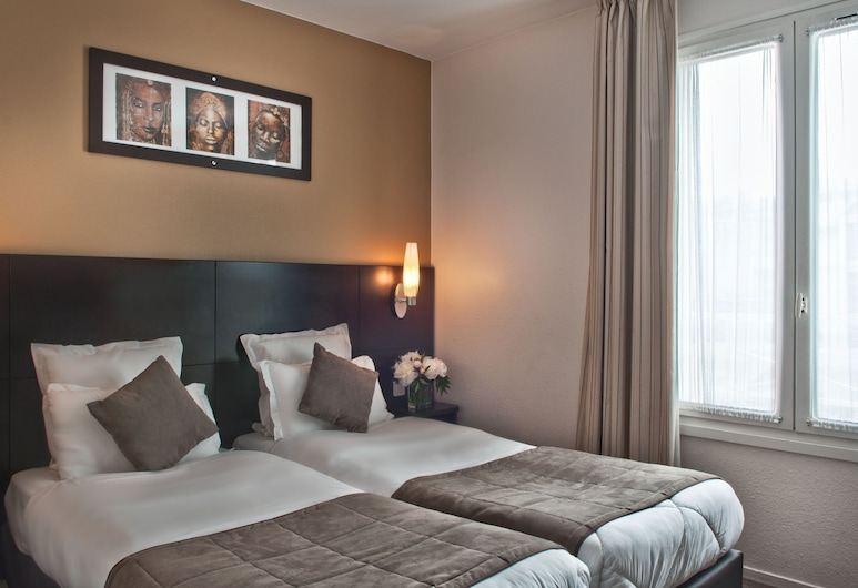 Hotel Les Hauts de Passy, Paris, Single Room, Guest Room