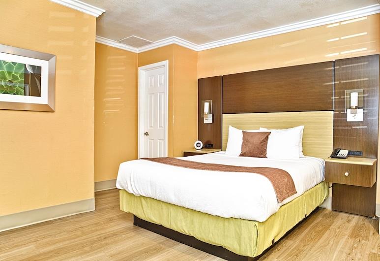 Little Inn By The Bay Newport Beach, ניופורט ביץ', חדר סטנדרט, מיטת קווין, חדר אורחים