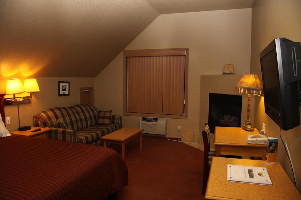 Pokoj typu Deluxe, dvojlůžko (200 cm) - Obývací prostor