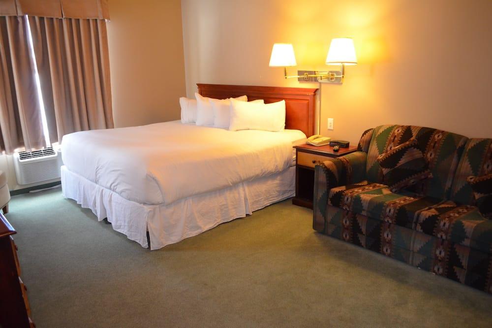 Standardní apartmá, kuchyně - Obývací prostor