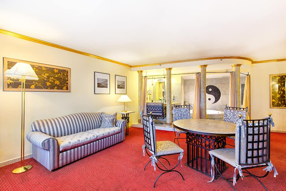 Luxury Süit - Oturma Odası