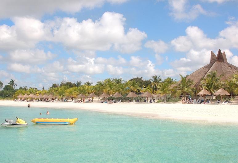 科蘇梅爾海濱民宿潛水度假村, 科茲美島, 海灘