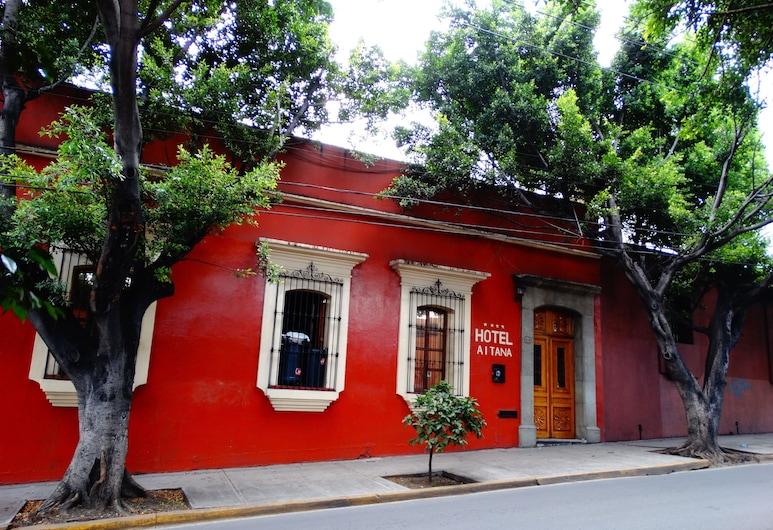 Hotel Aitana, Oaxaca, Hotelfassade