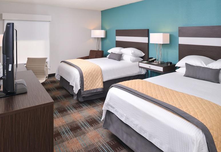 Wyndham Garden Greenville Airport, Greenville, Quarto, 2 camas de casal, Quarto