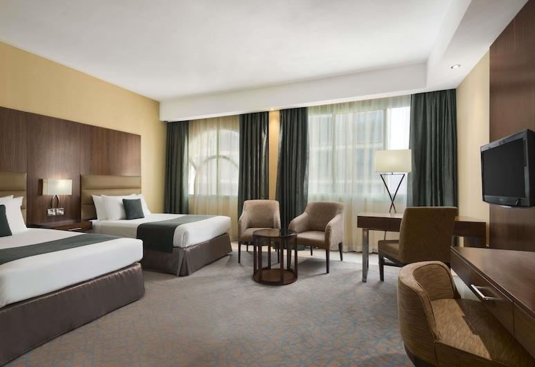 阿布扎比溫德姆豪生酒店, 阿布達比, 客房, 2 張單人床, 吸煙房, 客房
