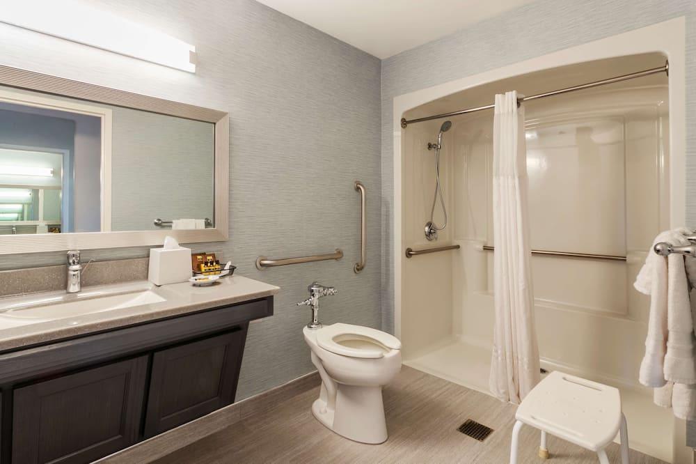 Стандартний номер, 1 ліжко «квін-сайз», обладнано для інвалідів, для некурців - Ванна кімната