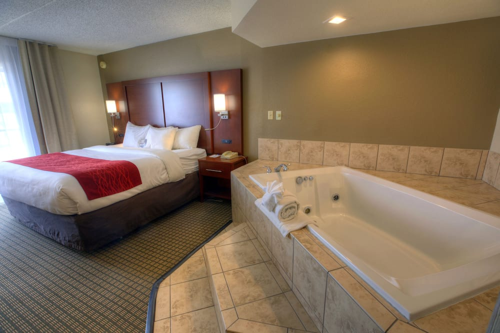 套房, 1 張特大雙人床, 非吸煙房, 熱水浴缸 - 客房