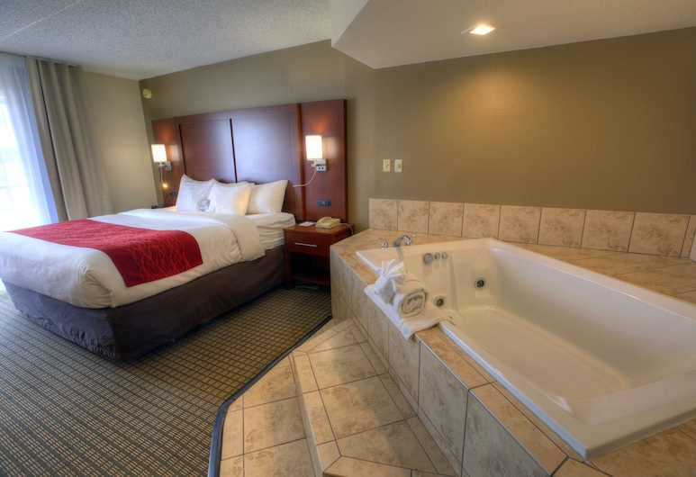 Comfort Inn And Suites, Rochelle, Suite, 1 King Bed, Non Smoking, Hot Tub, Guest Room