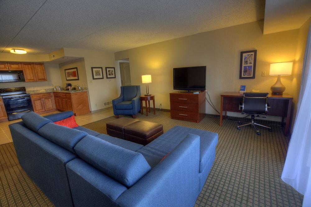 Efficiency, 套房, 多張床, 非吸煙房 - 客廳