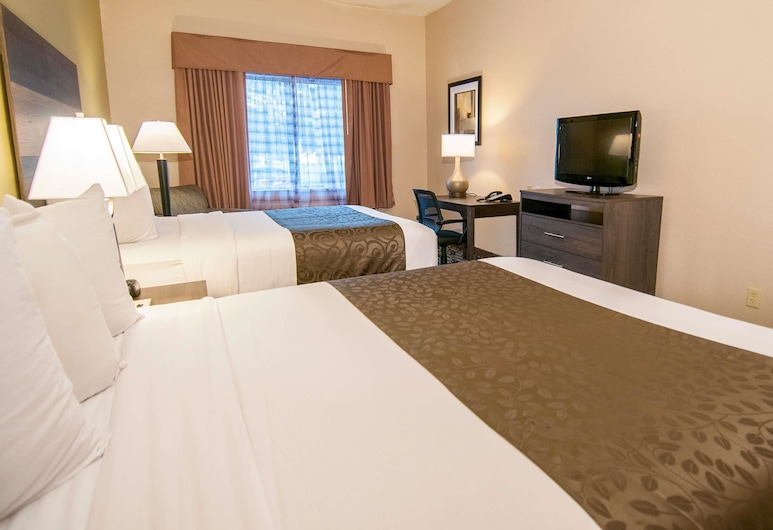 Baymont by Wyndham Jackson/Ridgeland, Jackson, Business Room, 2 Queen Beds, Non Smoking, Guest Room