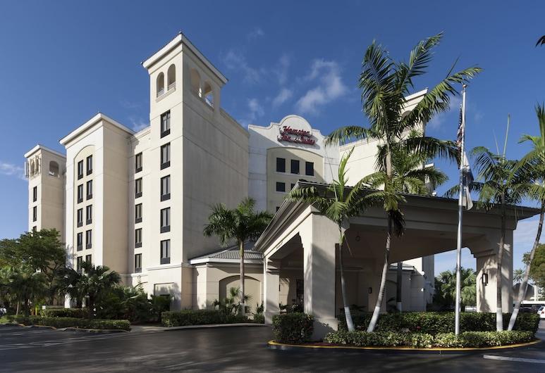 Hampton Inn & Suites by Hilton Miami-Doral/Dolphin Mall, Doral, Buitenkant