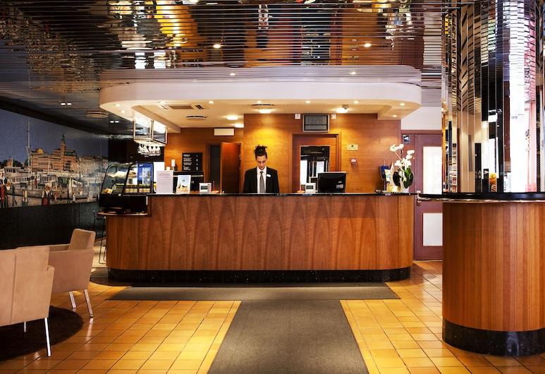 Best Western Kom Hotel Stockholm, Stockholm, Hotel lounge