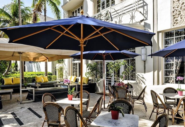 Hotel Chelsea, a South Beach Group Hotel, Miami Beach, Verönd/bakgarður