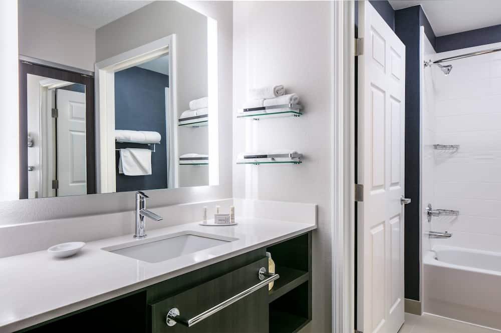 Suite, 1 bračni krevet, za nepušače - Kupaonica
