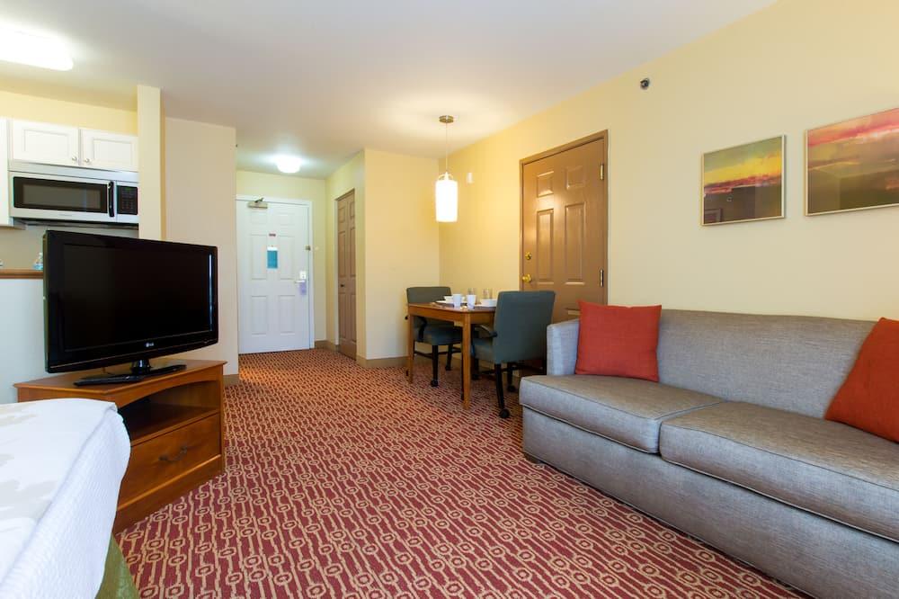 套房, 1 張加大雙人床, 非吸煙房 (One-Bedroom) - 客廳