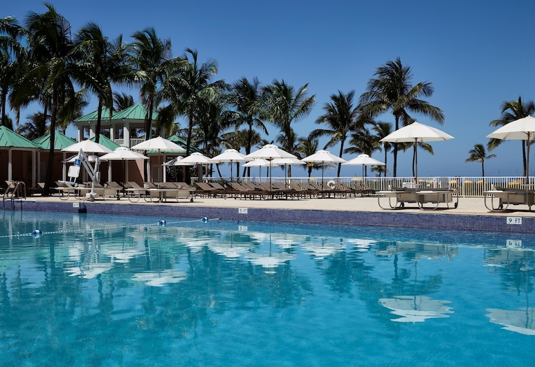 Sea View Hotel, Bal Harbour, On The Ocean, Bal Harbour, Baseinas