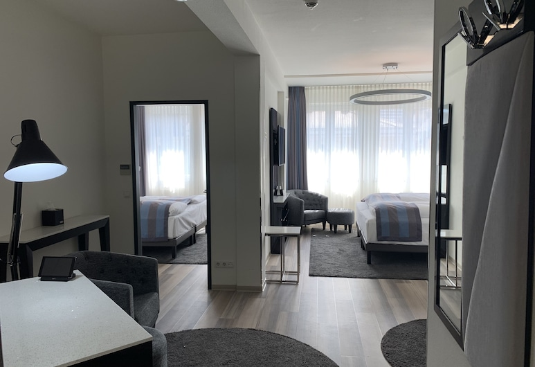 法蘭克福凱瑟霍夫城中心美居飯店, 法蘭克福, 尊榮套房, 1 張標準雙人床 (Privilege), 客房