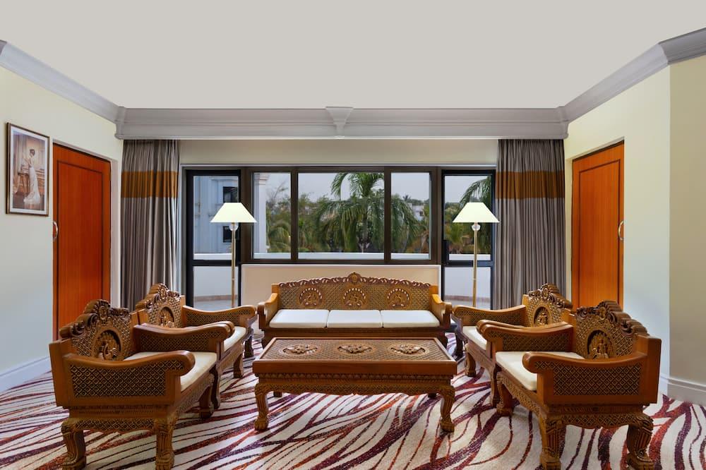 Apartmá typu Royal, dvojlůžko - Obývací pokoj