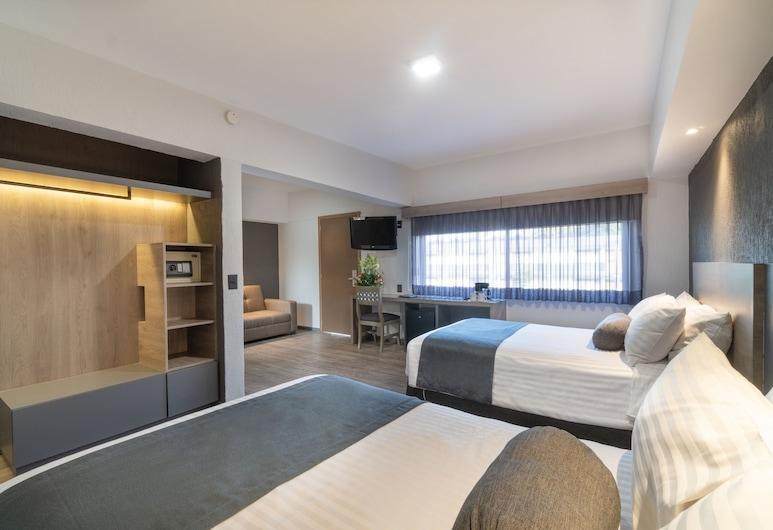 Hotel Malibu, Zapopan, Suite junior, Habitación