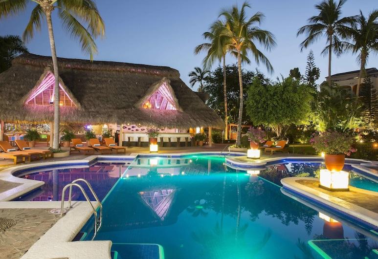 Flamingo Vallarta Hotel & Marina, Puerto Vallarta, Piscina