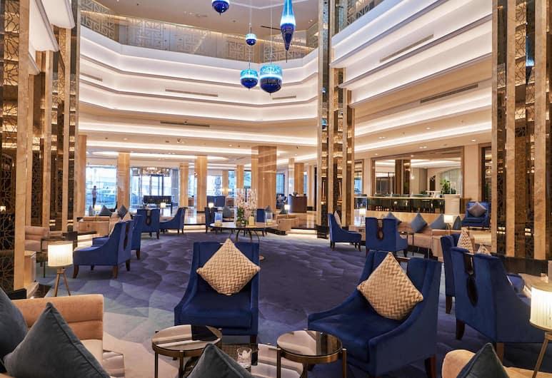 فندق وإقامة وسبا دبلومات راديسون بلو, المنامة, منطقة الجلوس في الردهة