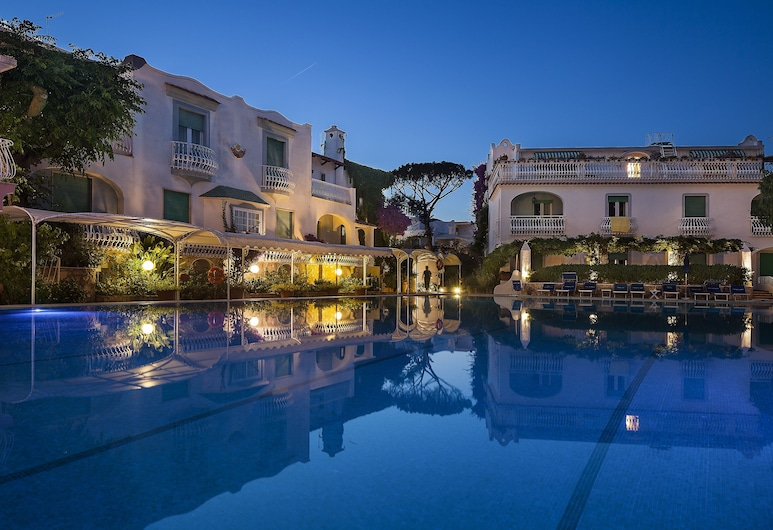 Hotel Continental Ischia, איסקיה, בריכה חיצונית