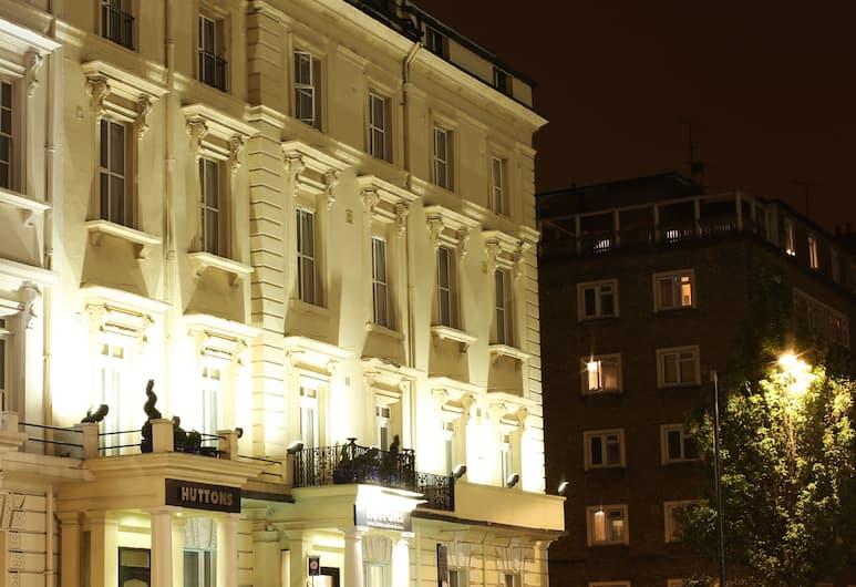 Hutton's Hotel, London, Fassaad