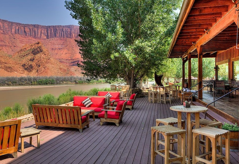 Sorrel River Ranch Resort, Moab, Balkoni