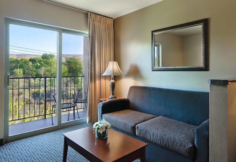 Oxford Suites Yakima, Yakima, Gd Studio Trs gd lit, Coin séjour
