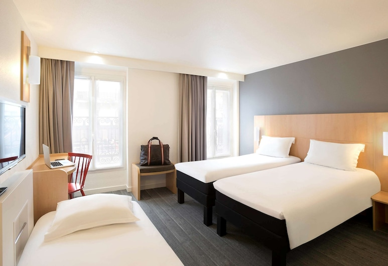 ibis Paris Gare Du Nord TGV, Paris, Standard Double Room, Multiple Beds, Guest Room