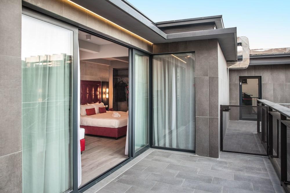 Habitación cuádruple superior, balcón - Habitación