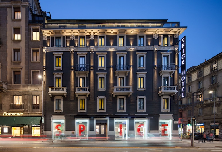 Spice Hotel Milano, Milan, Hotel Front – Evening/Night