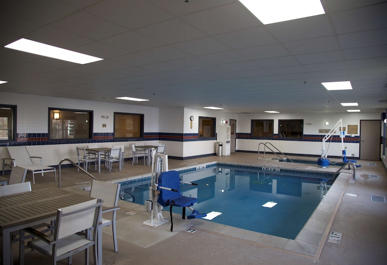 Country Inn & Suites by Radisson, Crystal Lake, IL, Crystal Lake, Piscina coperta