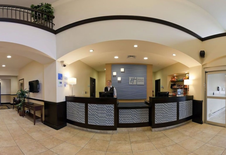 Holiday Inn Express Hotel & Suites Pekin (Peoria Area), Pekin, Rezeption