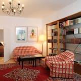 Quarto casal conforto (LARGE 25m²) - Área de estar