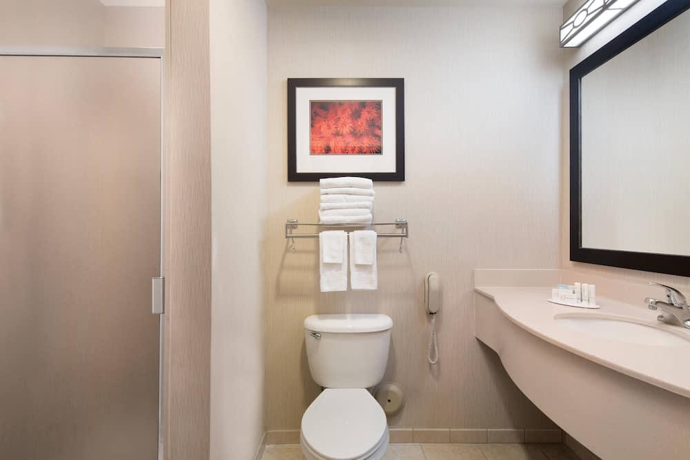 Štúdio, 2 veľké dvojlôžka, nefajčiarska izba - Kúpeľňa