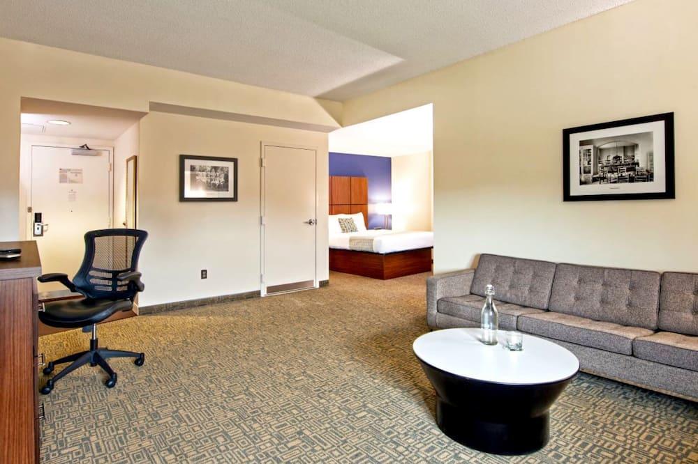 Štandardný apartmán, 1 veľké dvojlôžko - Obývacie priestory