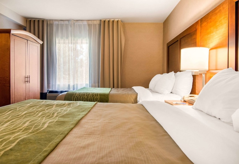 Comfort Inn & Suites Shawinigan, เชอวินิกัน, ห้องสวีท, เตียงควีนไซส์ 2 เตียง, ปลอดบุหรี่ (Two person Sofabed), ห้องพัก