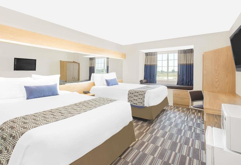 Microtel Inn & Suites by Wyndham Ames, Ames, Habitación estándar, 2 camas Queen size, Habitación