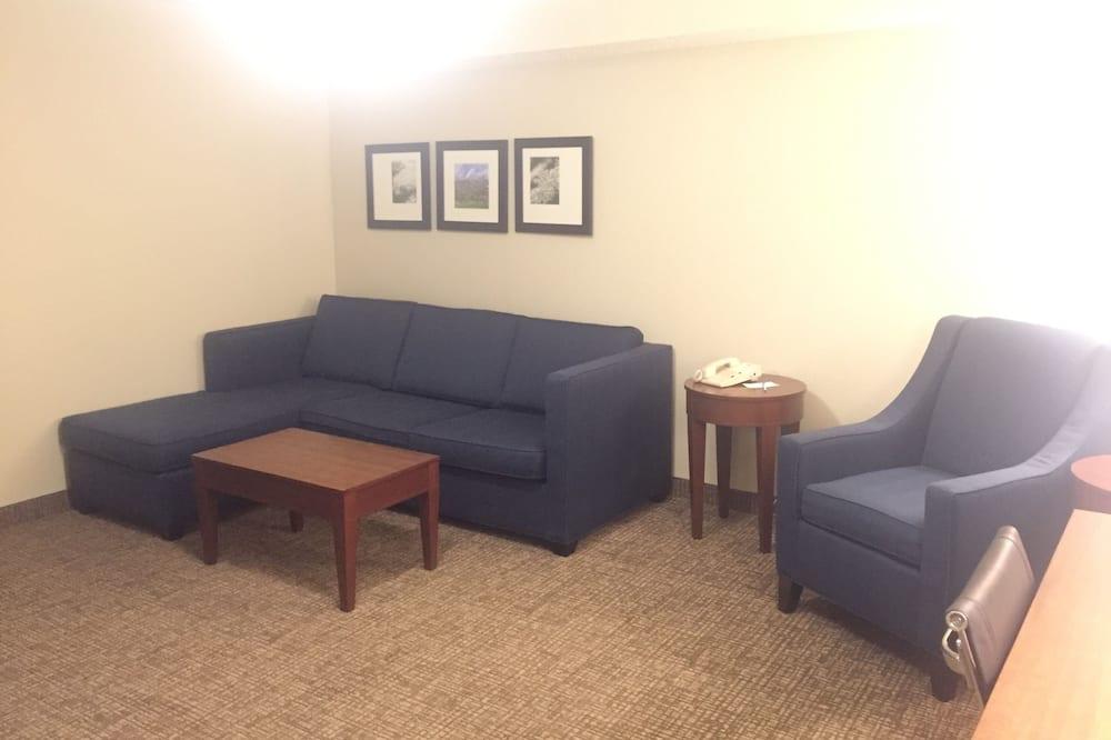 Suite, 2 Queen Beds, Non Smoking - Living Room