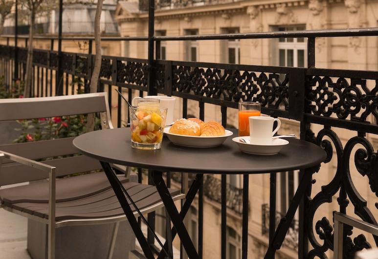 Monna Lisa Champs Elysées, Parijs, Familie suite, Terras