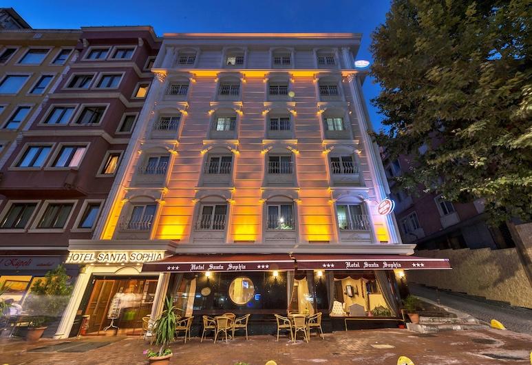 ホテル サンタ ソフィア, イスタンブール, ホテルのフロント - 夕方 / 夜間