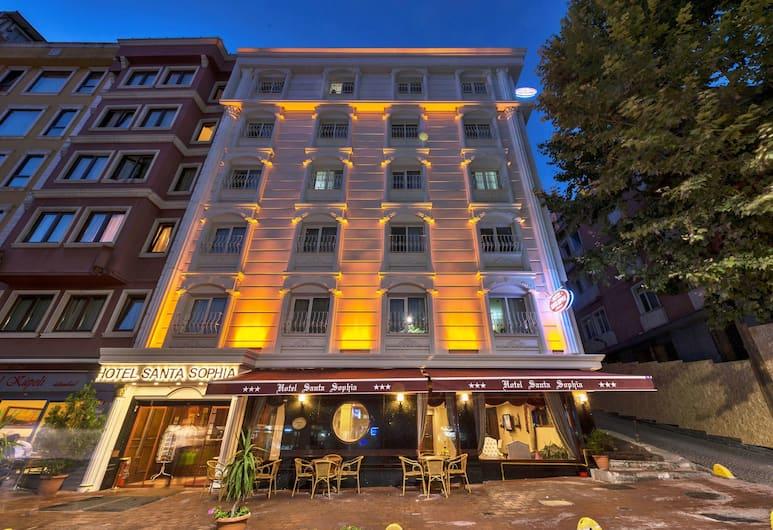 Hotel Santa Sophia, Istanbul, Hotellets front – kveld/natt