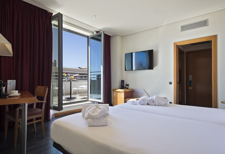Abba Sants Hotel 4*Superior, Barcelona, Exclusive Double or Twin Room, Terrace, Guest Room