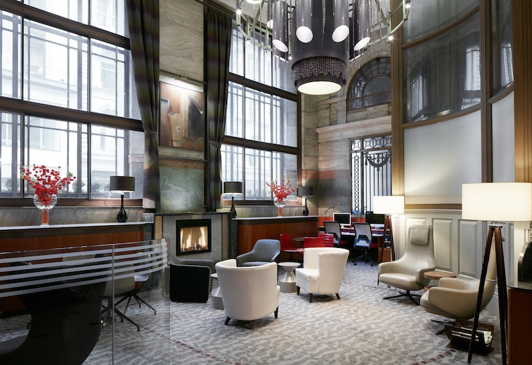 Club Quarters Hotel, Gracechurch, London, Hotellounge