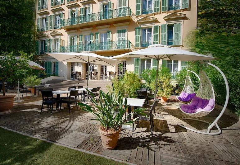 Villa Victoria, Niza, Terraza o patio
