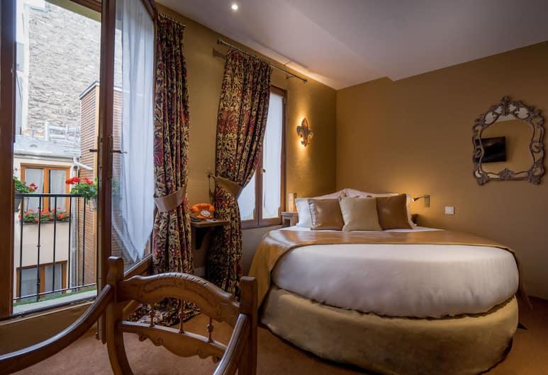 Hôtel Le Temple de Jeanne, Paris, Doppelzimmer (Lit rond), Zimmer